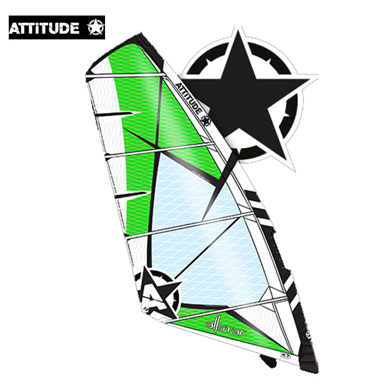 Attitude Sails Allstar 5.7mt on offer was £ 360.00