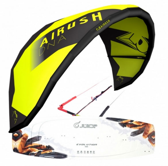 Airush DNA Juice Kiteboard package 2017