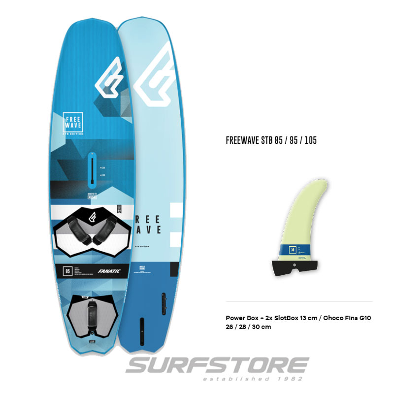 Fanatic Freewave Stubby 2019