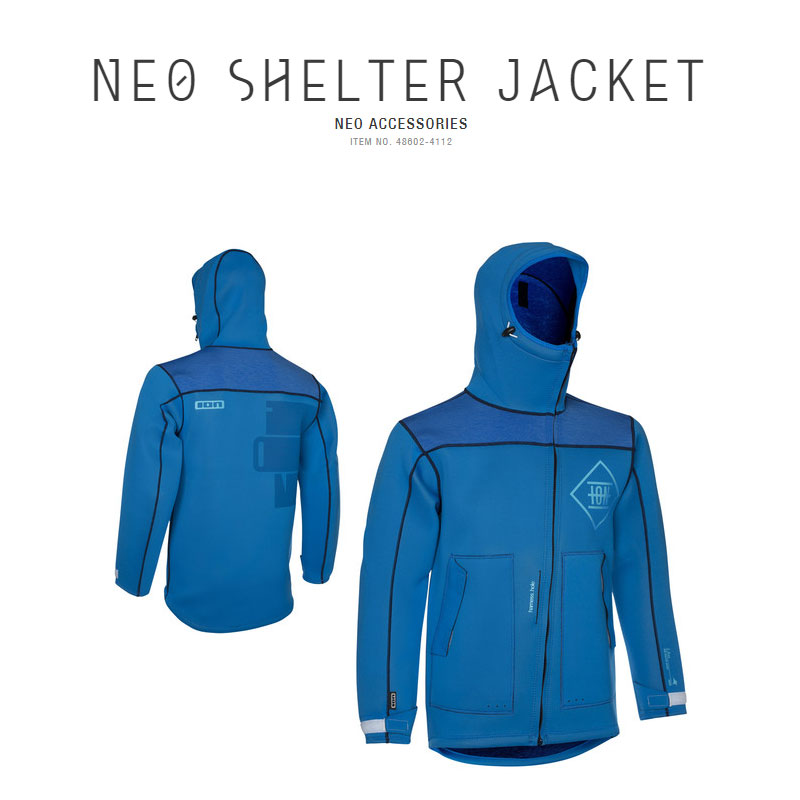 Ion Neo Shelter Jacket Blue On Offer!
