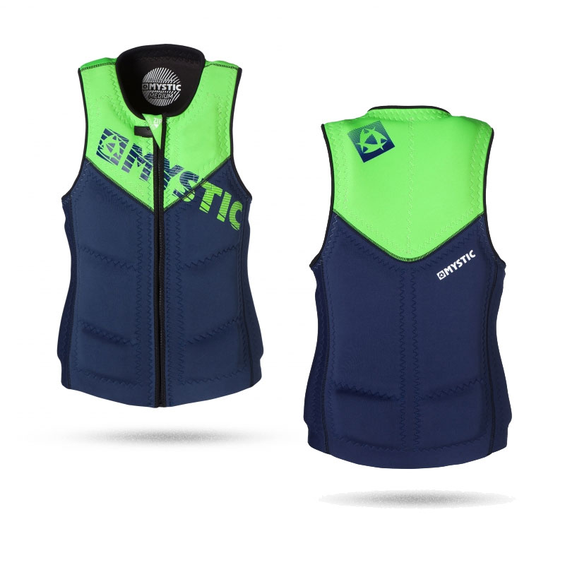 Mystic Star Wake Vest Men Front Zip