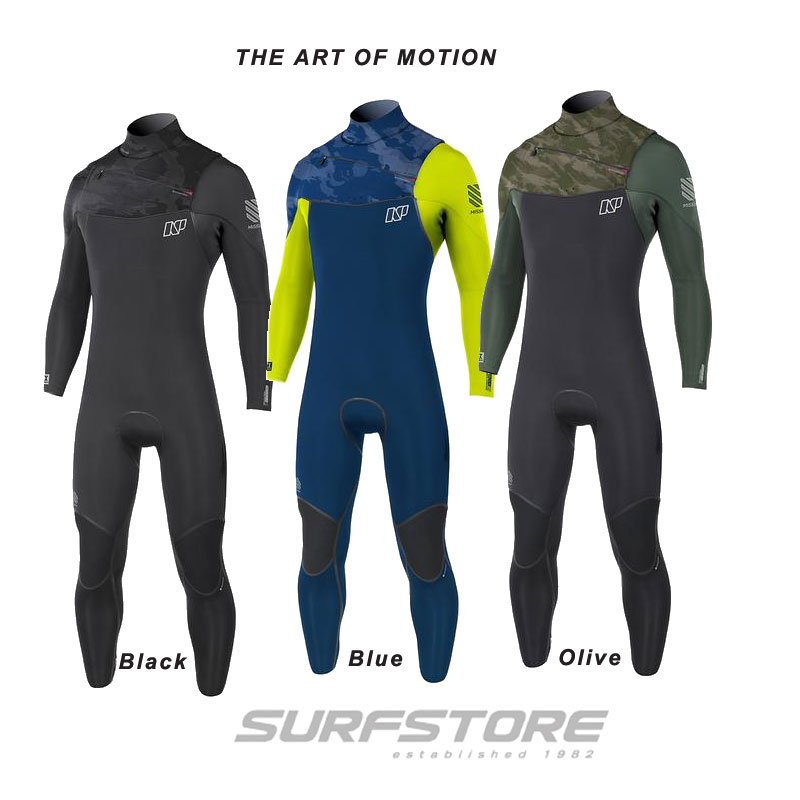 Neil Pryde Mission Front Zip 5/4/3mm 2018