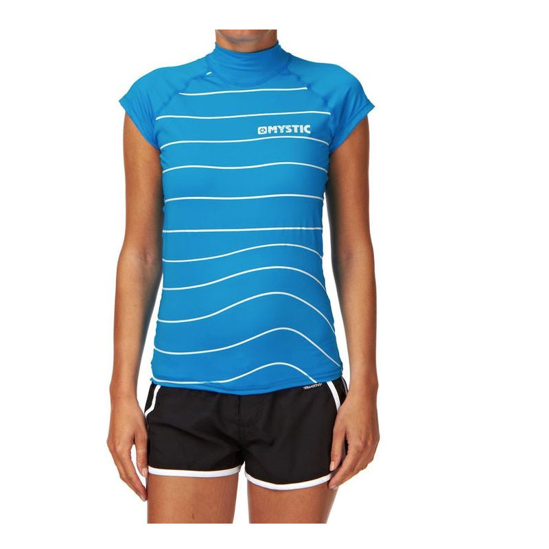 Mystic Womens Star Rash Vest Cap sleeve