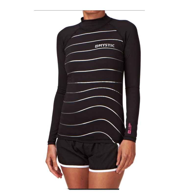 Mystic Womens Star Rash Vest Long sleeve