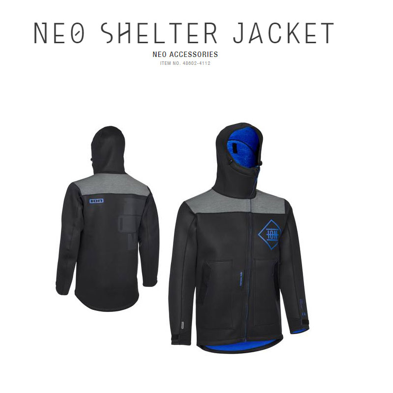 Ion Neo Shelter Jacket Black On Offer!