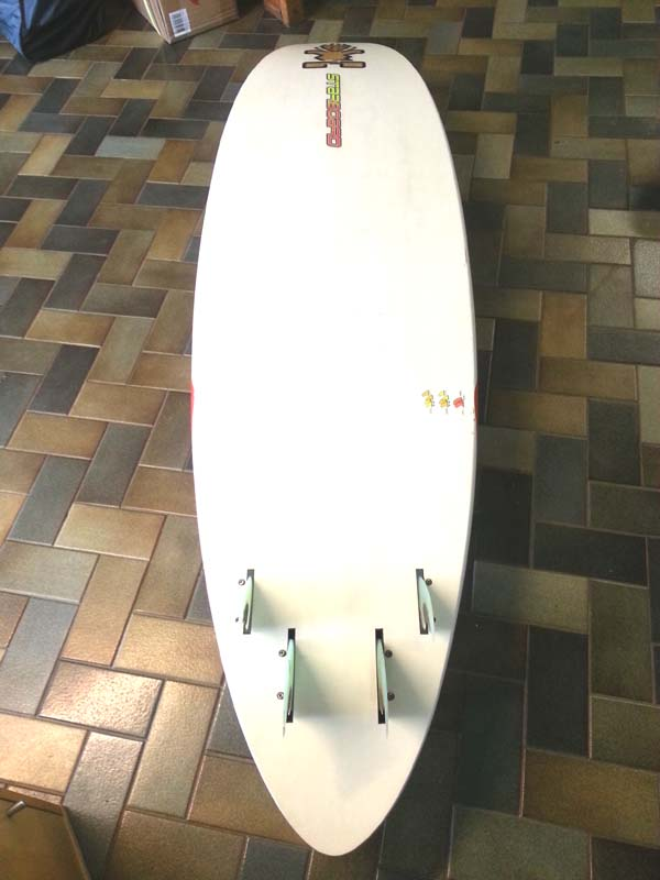 Starboard Quad 87 Wood Carbon 2011