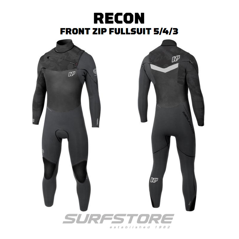 Neil Pryde Recon Front Zip 5/4/3mm 2018