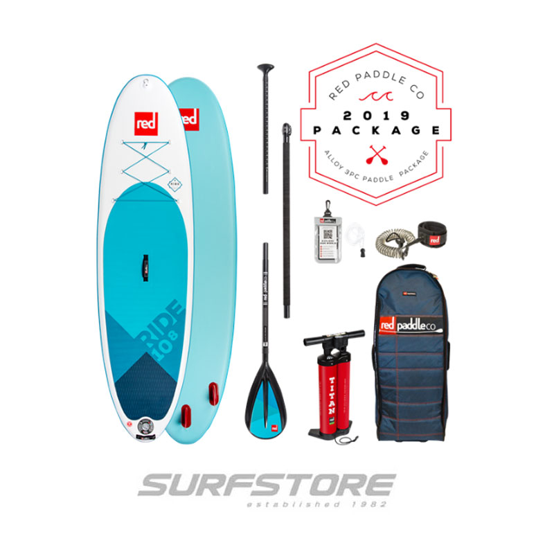 "Red Paddle Co Ride 10'8"" Package 2019"