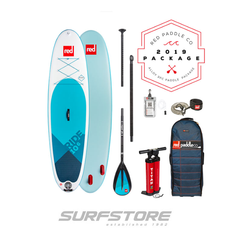 "Red Paddle Co. Ride 9'8"" Package 2019"