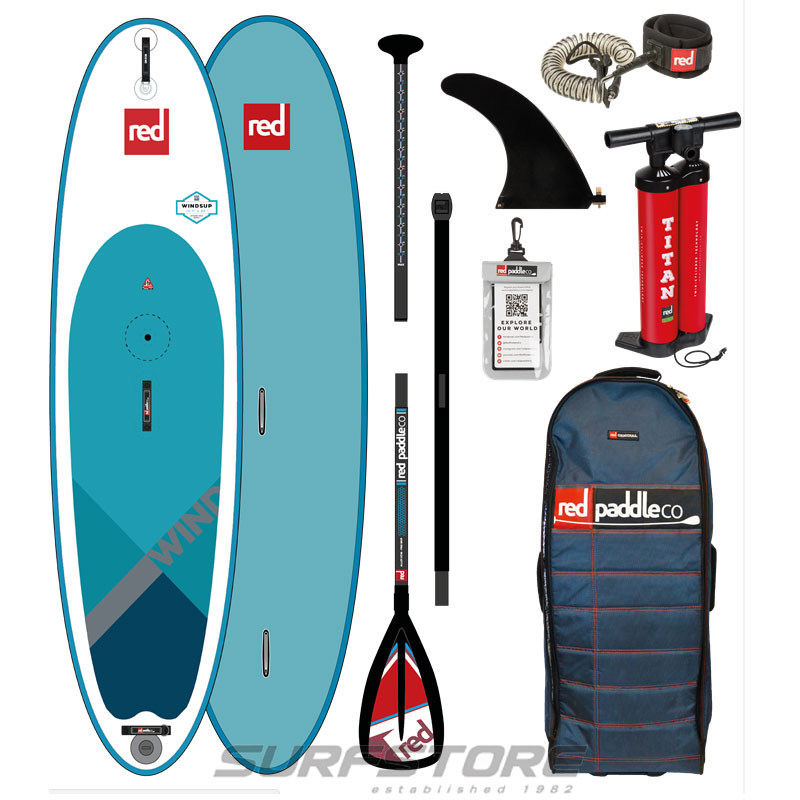"Red Paddle Co Ride 10'7"" Windsup 2018"