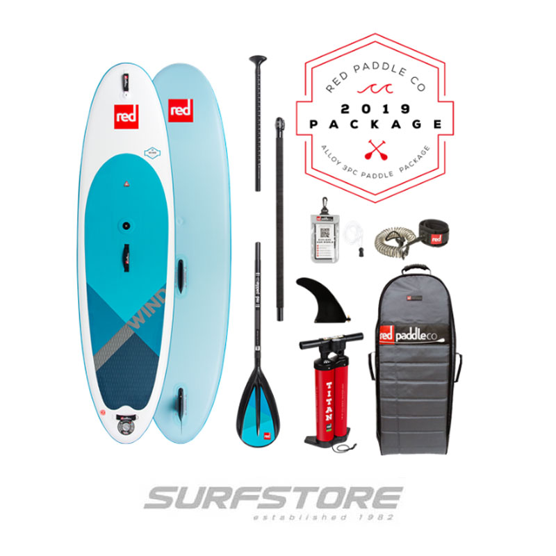 "Red Paddle Co Ride 10'7"" Windsup 2019"