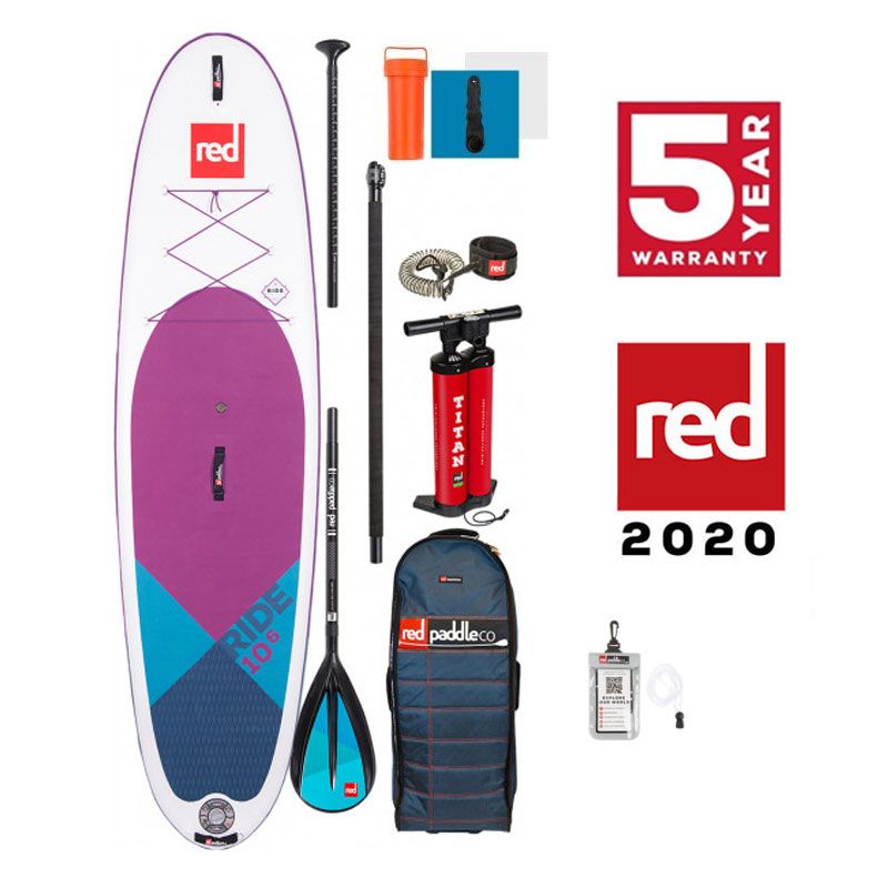 "Red Paddle Co Ride 10'6"" SP. EDT Package 2020 Forward Order"