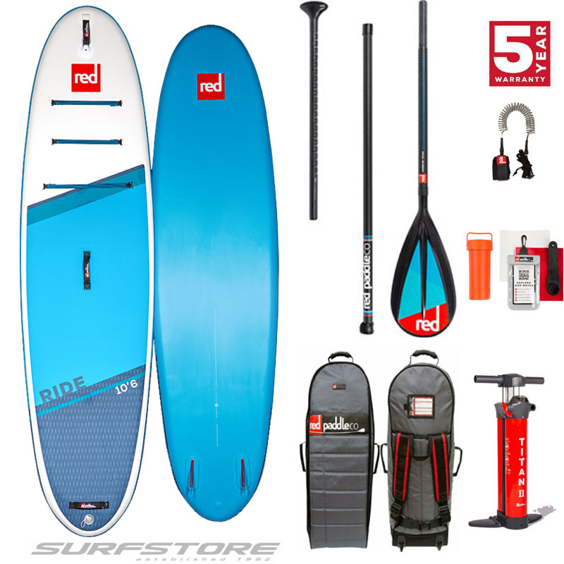 Red Paddle Co Ride 10'6 CN Package 2021 Forward Order