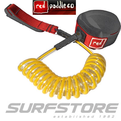Red Paddle Co. Sup Coiled Leash Flat water
