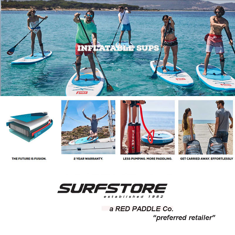 Why Choose Red Paddle Co?