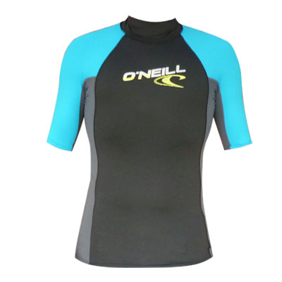 Oneill Rashvest Small shortsleeve graphite-blue
