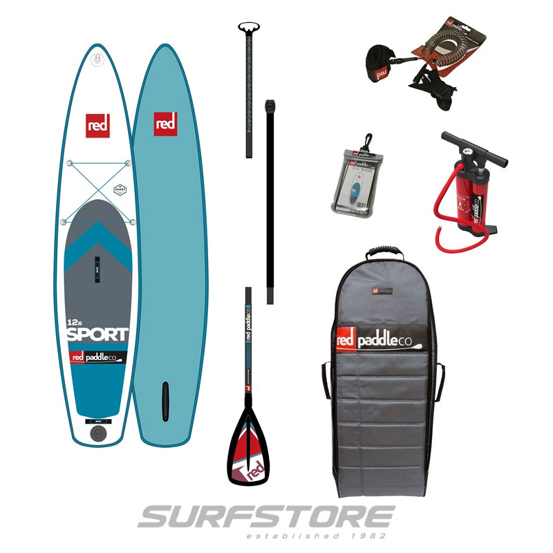 "Red Paddle Co. Sport 12''6"" 2017 Board or Package"