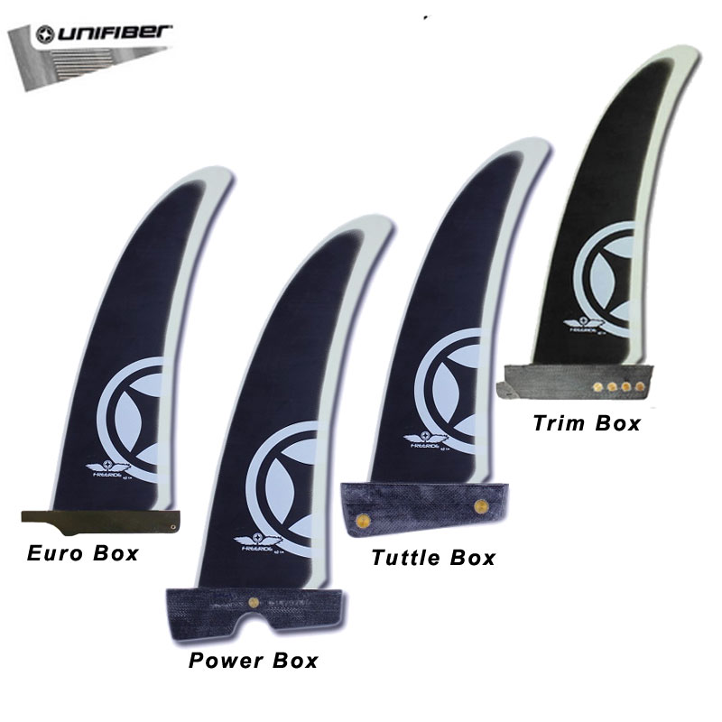 Unifiber Freeride Fins Trim box