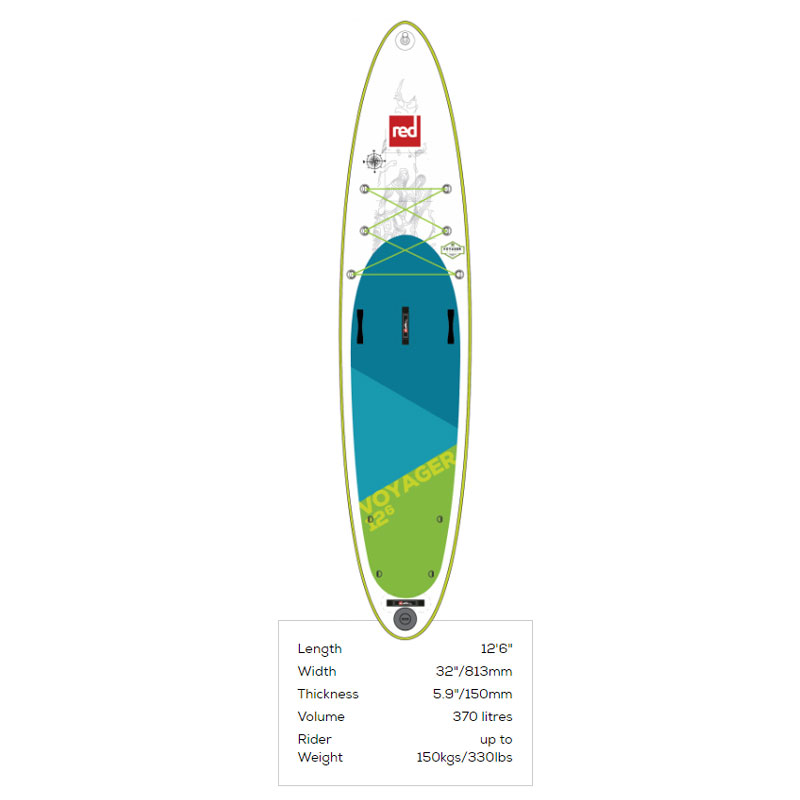 "Red Paddle Co Voyager 12\'6"" 2018"